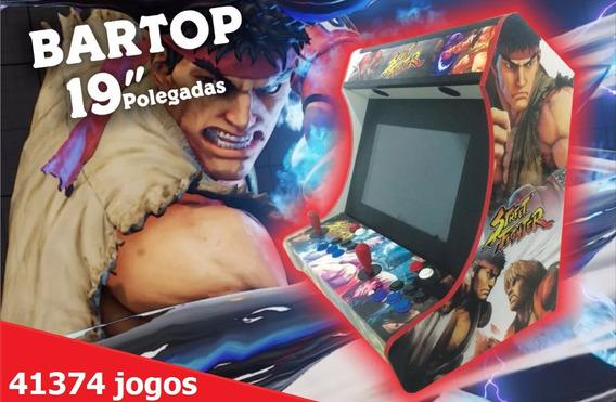 Fliperama Bartop Premium 19 41374 Jogos - Malvadeza