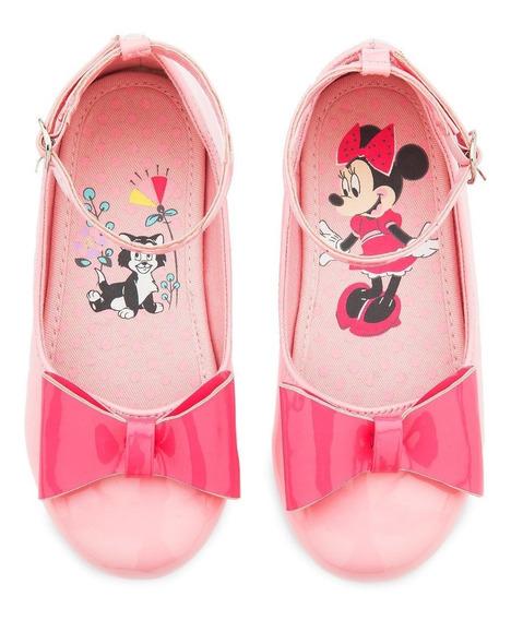 Zapatos Baletas Para Niña Disney Minnie Mouse Talla 10