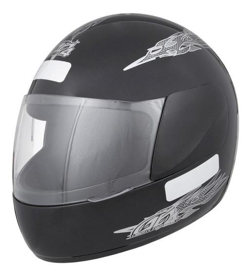 Capacete para moto integral Pro Tork Liberty Four preto tamanho 58