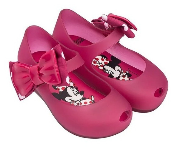 Sapatilha Mini Melissa Ultragirl Minnie Ii 32377 Original