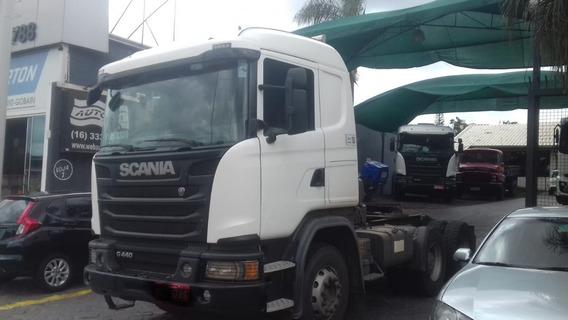 Scania G 440 6x4 Cavalo Traçado Bug Pesado 2015 R$ 215.000.