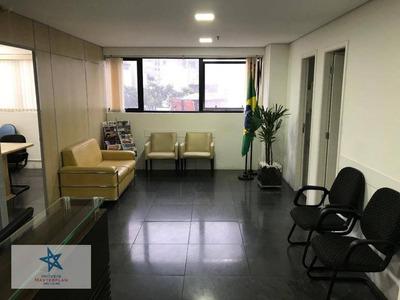 Excelente Conjunto Comercial 60m² Área Úitl- Prédio Om Total Infraestrutura- R Galvão Bueno - Liberdade - Cj0389