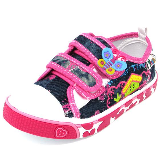 Zapatos Niñas Marca Yoyo L2003 Fucsia 25-30. Envío Gratis