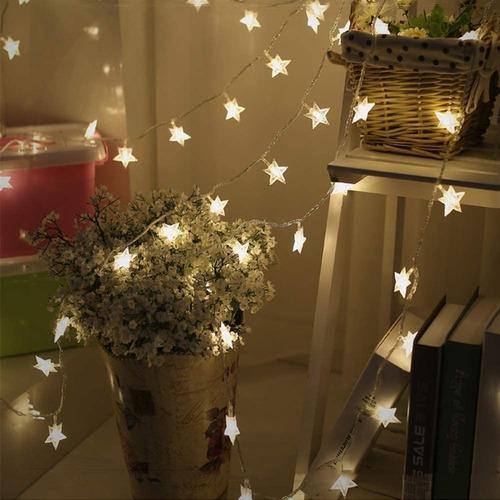 Luces De La Estrella Cuerda Usb Carga Luz Decorativa