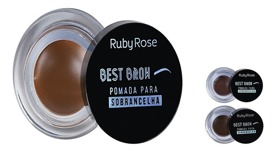 Best Brow Gel Pomada Para Sobrancelha Ruby Rose Hb-8400