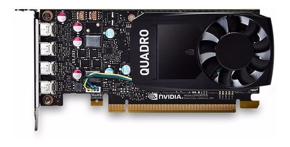 Tarjeta Video Pny Quadro P620 2g Ddr5 4 Mini Dp 128-bit /v