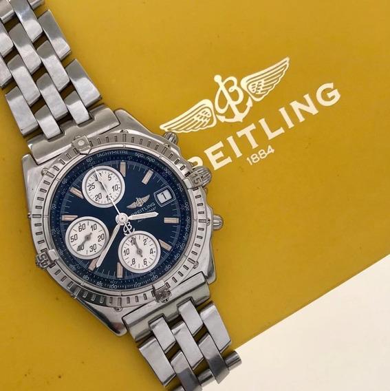 Breitling Chronomat Full Steel Automatic Impecável
