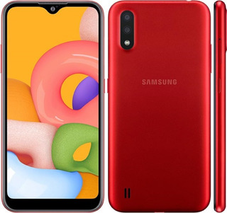 Samsung A01 Rojo 32gb