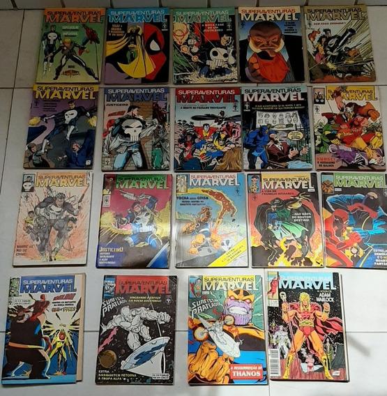 Revistas Infantis Super Aventura Marvel