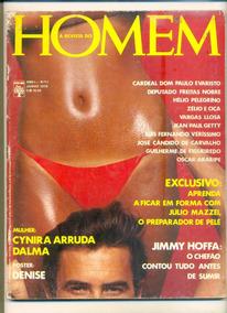 *sll* Revista Homem N. 11 - Cynira Arruda - Junho De 1976