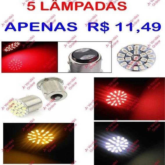 Kit Com 5 Lampadas Led Cor E Modelo De Sua Preferência