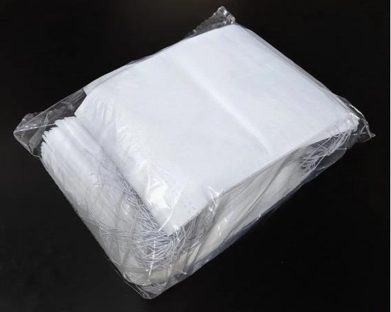 100 Cubrebocas Pellón Impermeable Grueso Para Adulto 6-8 Hrs
