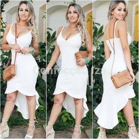 47e2eedc4 Vestido Giovana Antonelli - Vestidos Femininas Branco no Mercado ...
