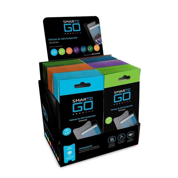 Display Pelicula Protetora Lcd Transparente Smartphone 56 Pc