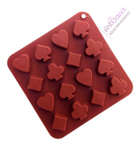 Molde De Silicon Para Hacer Bombones De Chocolate Repostería
