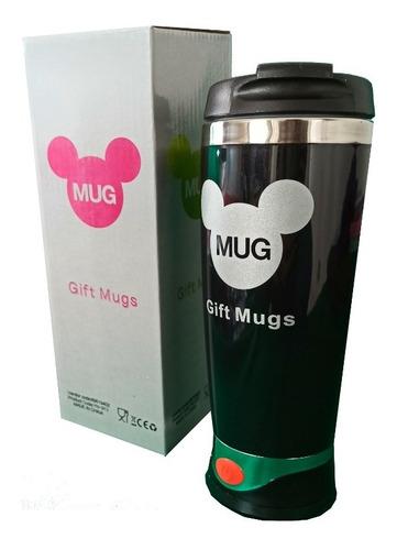 Termo Con Mezclador Para Cafe Mugs Licuadora Portatil