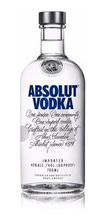 Vodka Absolut Azul Clasic Importado Original 750ml 01almacen