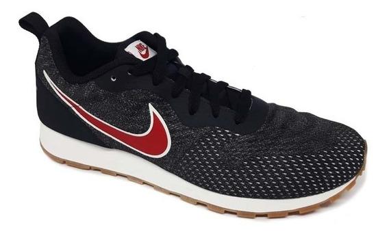 Tênis Nike Md Runner 2 Eng Mesh - Preto/vermelho