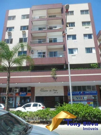 Temporada!apartamento 2 Quartos Perto Da Praia Do Forte - 641