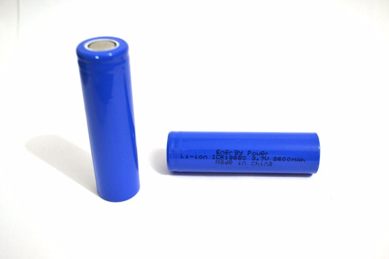 Bateria 3,7v 2600mah Cr18650 Green