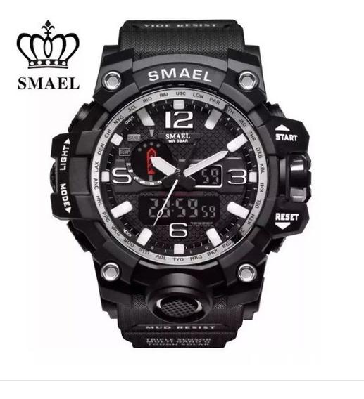 Relógio Masculino Militar Original Shock Smael Camuflado