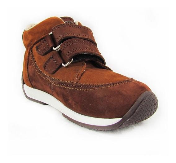 Zapatos Para Niños Pocholin Botas Casuales Marrón