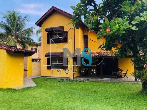 Imagem 1 de 16 de Sobrado Com 3 Dormitórios À Venda, 185 M² Por R$ 1.100.000,00 - Juquehy - São Sebastião/sp - So0167