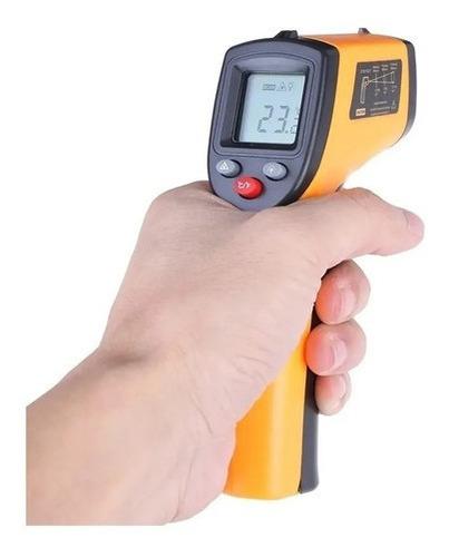 Imagem 1 de 6 de Termômetro Sem Contato Para Refrigeração -50 A +400°c