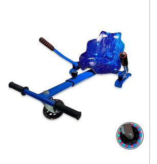 Hoverkart Carrinho P Hoverboard Universal 6 A 10 Azul Space
