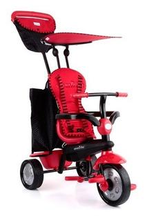Triciclo Smart Trike Glow 4 En 1 Color Rojo Nuevos Sellado