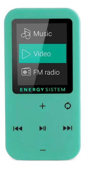 Mp4 Energy Sistem Touch Radio Fm 8gb Micro Sd Mint