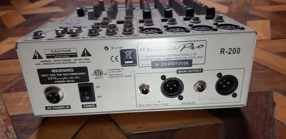 Cosola,mezcladora Whaferdale Pro R-200 En Excelente Estado