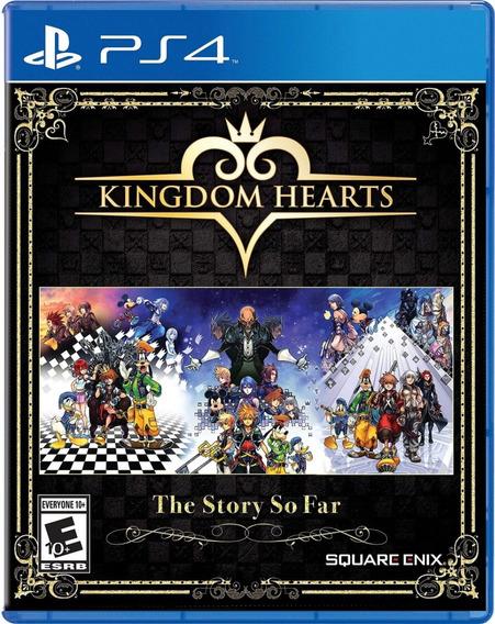Ps4 Kingdom Hearts The Story Só Far Mídia Física Lacrado