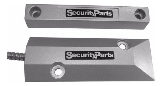 Sensor Magnético De Piso Em Alumínio Blindado Security Parts