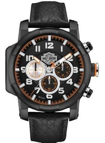 Relógio Bulova Masculino Harley Davidson Wh30555p