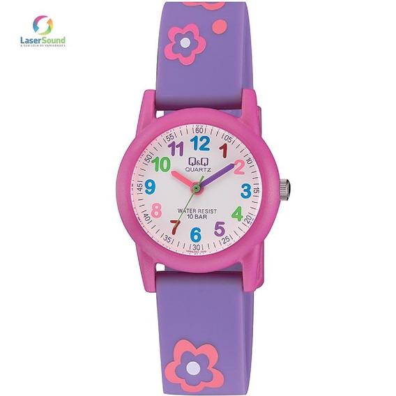Relógio Q&q By Japan Infantil Vr99j001y Com Garantia E Nf