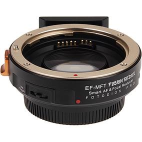 Adaptador Fotodiox Fusion Redux Canon Ef P/ Mft Micro 4/3