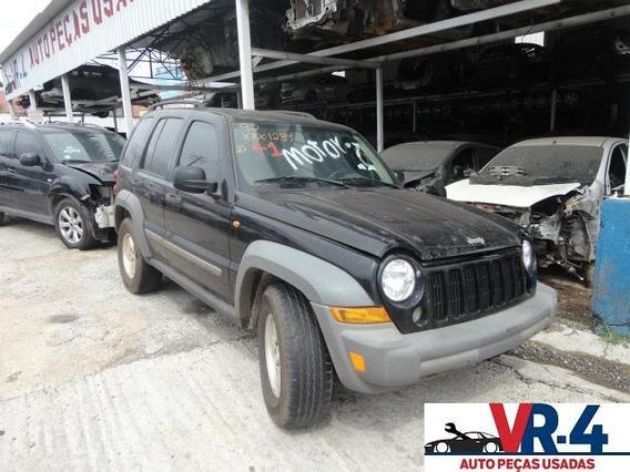 Peças Jeep Cherokee 3.7 V6 4x4 07 - Sucata Retirada De Peças