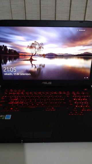 Notebook Asus Rog G751jt-ch71 - Ótimo Para Jogos