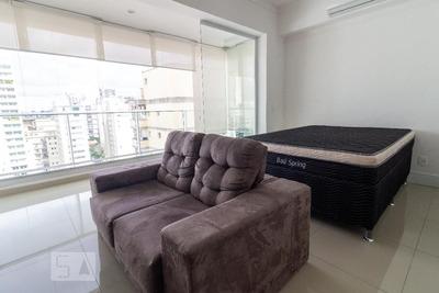 Studio No 17º Andar Com 1 Dormitório E 1 Garagem - Id: 892914621 - 214621