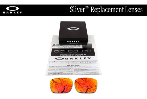 Micas De Reemplazo Para Oakley Sliver Color Torch