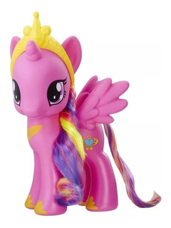My Little Pony Friendship Magic Pequeño Pony Con Peine
