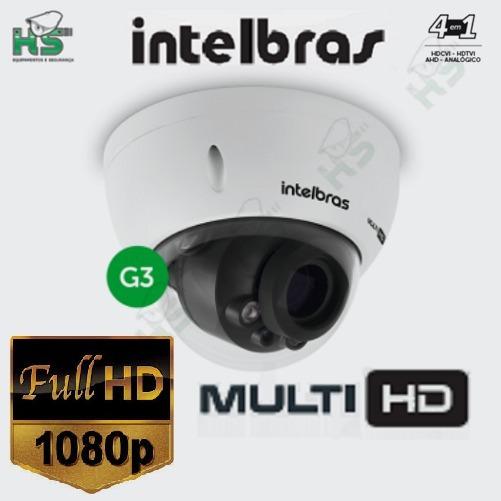 Câmera Hdcvi Vhd 3230d Vf G3 Full Hd 1080p Ik10 Intelbrás Nf