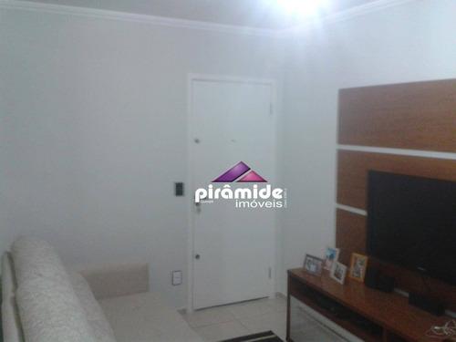 Apartamento Com 2 Dormitórios À Venda, 46 M² Por R$ 215.000,00 - Santana - São José Dos Campos/sp - Ap12578
