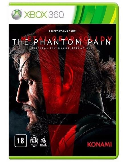 Metal Gear Solid V Phantom Pain Xbox 360 Fisica Lacrado Nfe