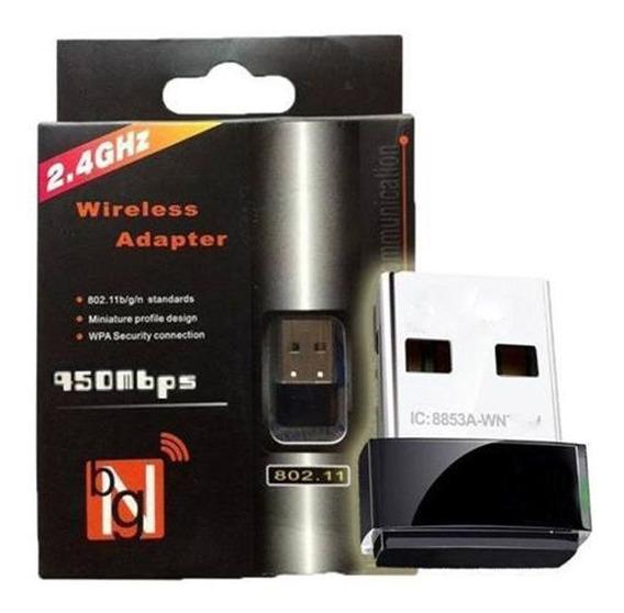 Mini Adaptador Wireless Wifi Usb Mini Nano 802.11n Oferta