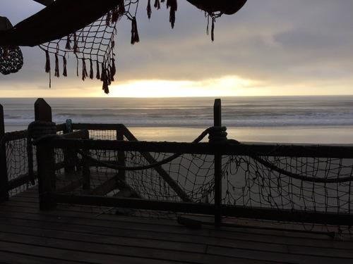 Fin De Semana Gozado Frente Al Mar En Plena Playa
