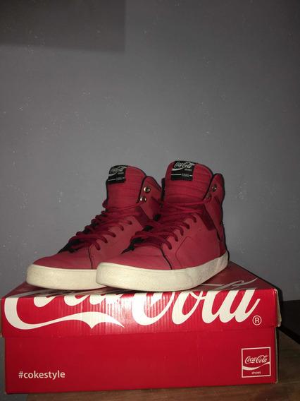 Zapatillas Coca Cola Rojas