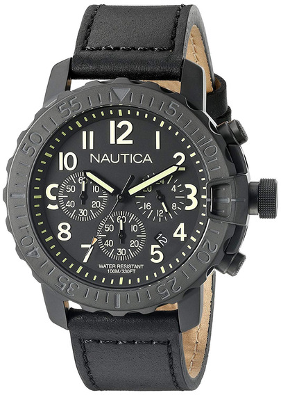Relógio Nautica Chronograph Nad21006g
