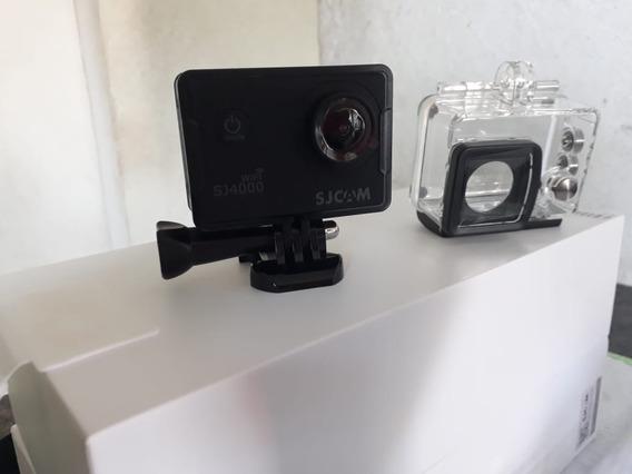 Câmera Sj4000 Wifi Sjcam- Ideal Para Youtuber